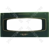 Electrolux SN55TCWL Grill Oven Outer Door Glass w/ Green Detail
