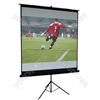 "86"" 4:3 Ratio Matt White Height Adjustable Tripod Projection Screen"