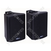 Black High Quality 40 W Background Music Speakers with Hanging Bracket