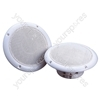 White High Quality 8 Ohms 40 W Moisture Resistant Speakers For Shower Rooms, Bathrooms, etc.