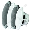 "e-audio White 5"" Dual Cone Moisture Resistant Speakers (8 Ohms 80 W)"