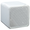 "e-audio White 4"" Full Range Dual Cone Mini Box Speaker (8 Ohms 80 W)"