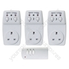 Eagle 3 Way Wireless Remote Control Plug-In Switch