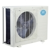 18000 BTU Per Hour Quick Coupling Wall Mounted Air Conditioner Exterior Unit