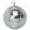 Silver 100 mm Lightweight Mirror Ball