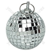 Silver 50 mm Lightweight Mirror Ball