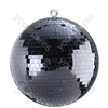 "Black 12"" (300 mm) Lightweight Mirror Ball"