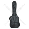 Black Nylon Acoustic Guitar Bag