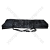 High Quality Black Fabric Keyboard Stand Carry Bag With 2 Strap Handles and Zipper