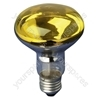 Yellow 60 W ES/E27 Very High Quality R080 Reflector Lamp