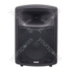 Soundlab Black High Quality 200 W ABS Plastic 12&quot; Full Range Cabinet