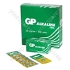 GP Batteries GPA76-C1 Alkaline Button Cell (Card Of 1)