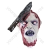 Severed Head (Impaled on a Knife) Halloween Decoration