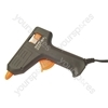European Black Small Hot Melt Glue Gun With 1.4m Double Insulated Lead