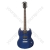 Johnny Brook Electric Guitar Transparent Blue.