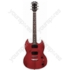 Johnny Brook Electric Guitar Transparent Red