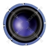 "Purple 8"" 200 W High Powered 4 Ohm Car Speaker"