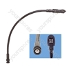 12v Ultra bright LED 360mm Gooseneck With BNC Socket
