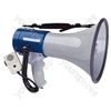 25W Eagle Megaphone With Pistol Grip, Fist Mic & Shoulder Strap