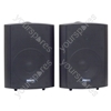 Black 16W 100V line Background Music Speakers