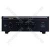 Black PA2040E 40 W RMS Mixer Amplifier
