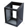 Rackz Console Style Equipment Rack with 10U Mixer and 12U Rack