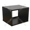 Black 8U High Quality Metal Rack Case