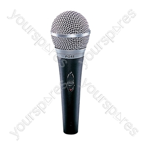 Shure PG48 Dynamic XLR Vocal Microphone