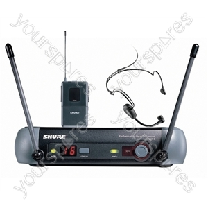 Shure Black PGX14/PG30 UHF Headset System with Automatic Transmitter Setup