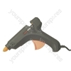 Black 40 W Large Hot Melt Glue Gun