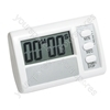 Large Digit Count Down Timer with Adhesive pad