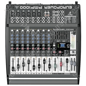 Behringer Black 500 W Europower PMP1000. Boxed