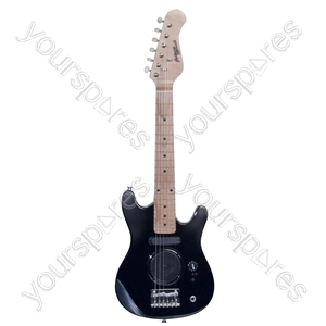 Johnny Brook Mini Electric Guitar With Amp Black.