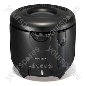 Deep Fryer in Black