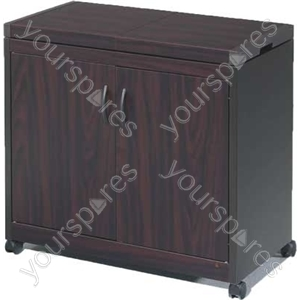 Connoisseur Metal Wood Effect Food Trolleys