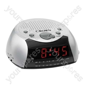 Digital Clock Radio Alarm