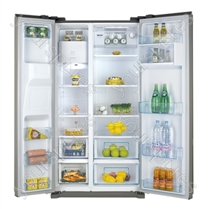 Side by Side Fridge Freezer in Silver