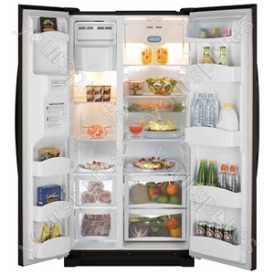 541 litre side by side fridge freezer
