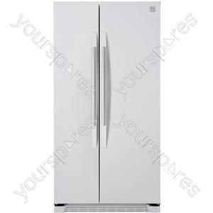 Side by Side Fridge Freezer in White