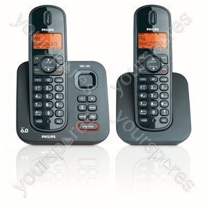Cordless Twin Phones with Answer Machine