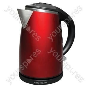 1.7 Litre 3kW Stainless Steel Kettle in Red