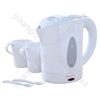White Travel Kettle