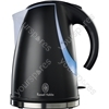 1.7 Litre Stylis Black Kettle