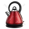 Cordless Red Traditional Kettle