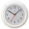 Wycome Wall Clock in White