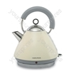 Accents Cream 1.5 Litre Traditional Kettle