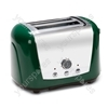 Accents 2 Slice Green Toaster