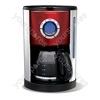 Red Accents Coffee Maker
