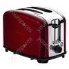 2 Slice Toaster in Red