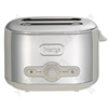 Debut 2 Slice Toaster in Almond & Chrome